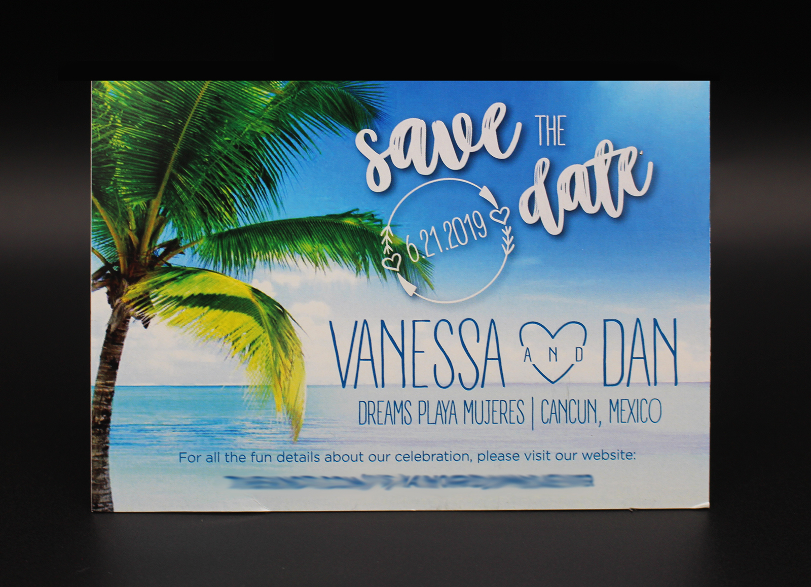 Beach Save the Date