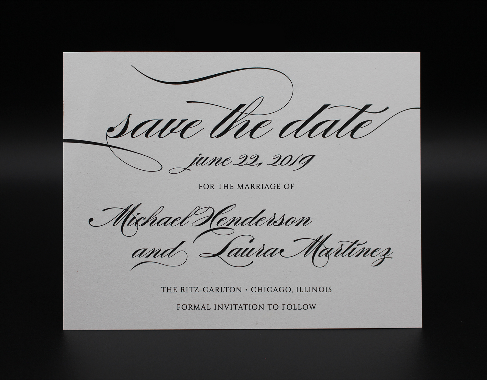 Elegant Type Save the Date
