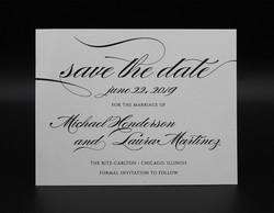 Elegant Type Save the Date