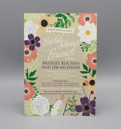 Kraft Floral Bridal Shower