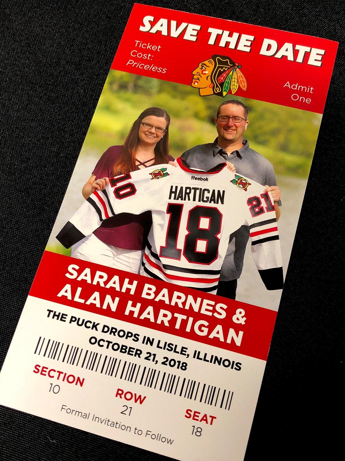 Blackhawks Sarah Barnes