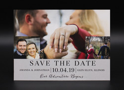 Three Photo Collage Save the Date