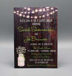 Wood & Lights Bridal Shower