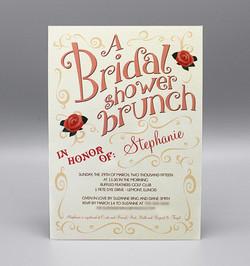 Swirls Bridal Shower Brunch