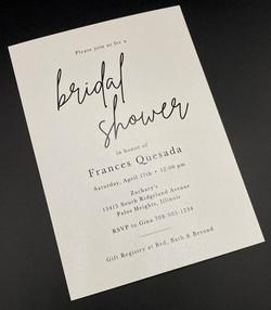 Basic Bridal Shower