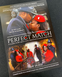 The Perfect Match Save the Date