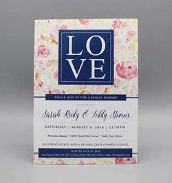 LOVE Floral Bridal Shower