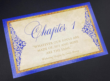 Chapter Table Number