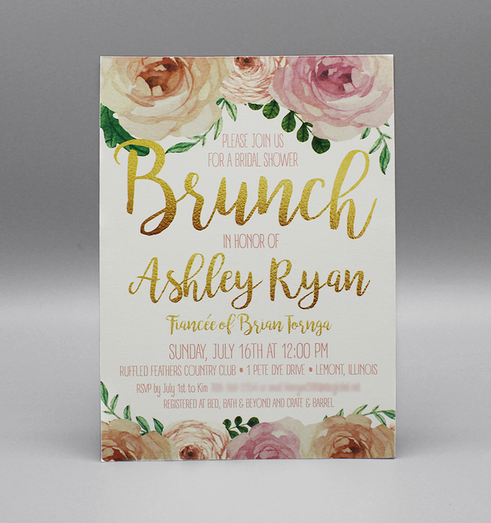 Floral & Brunch Bridal Shower
