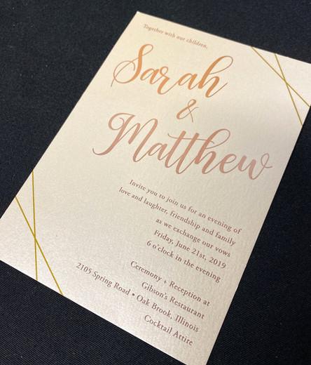Lines Invitation