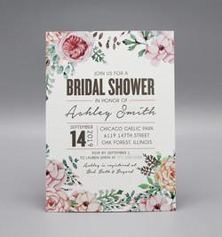 Modern Floral Bridal Shower