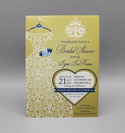 Lace Dress Bridal Shower