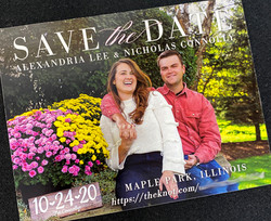 Single Photo Save the Date 6