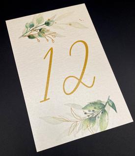 Modern Floral Number