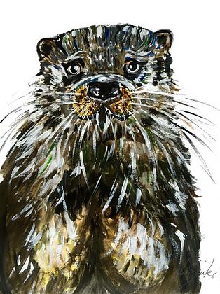 Dog Otter