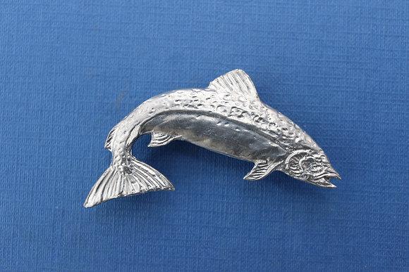 Salmon brooch