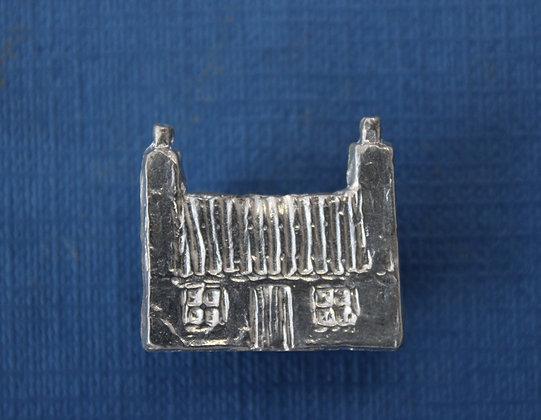 Croft cottage brooch