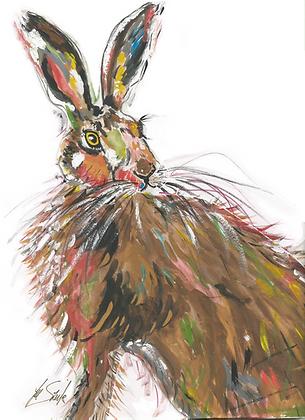 Decoupage Hare