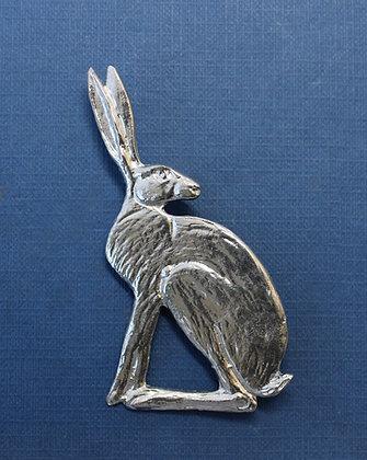 Elegant Hare brooch