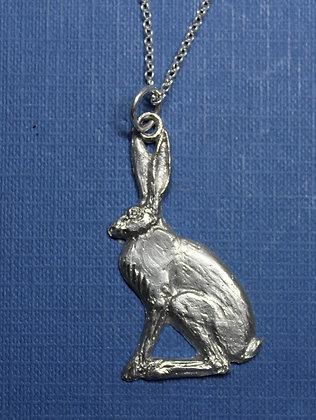 Sitting hare pendant