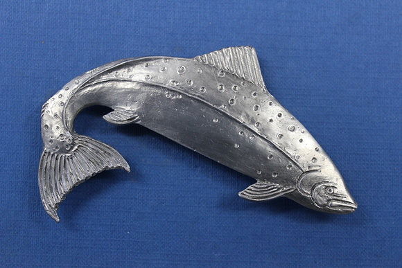Salmon brooch large