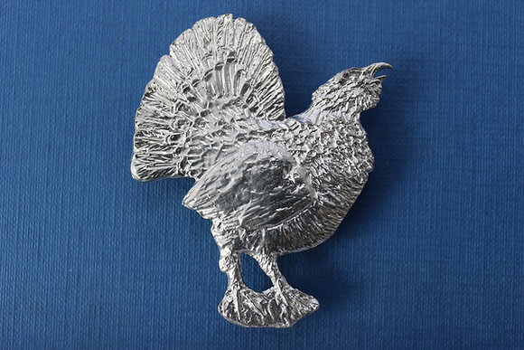 Capercaillie brooch