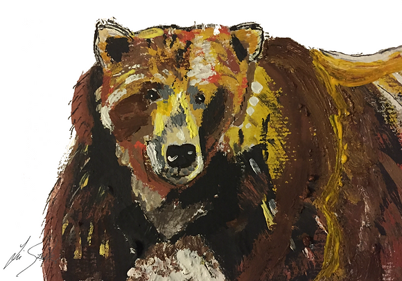 Painterly Bear