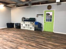new studio exit