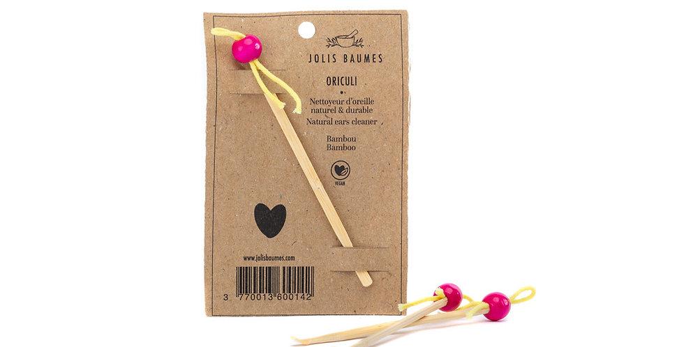 Cure oreille rose en bambou