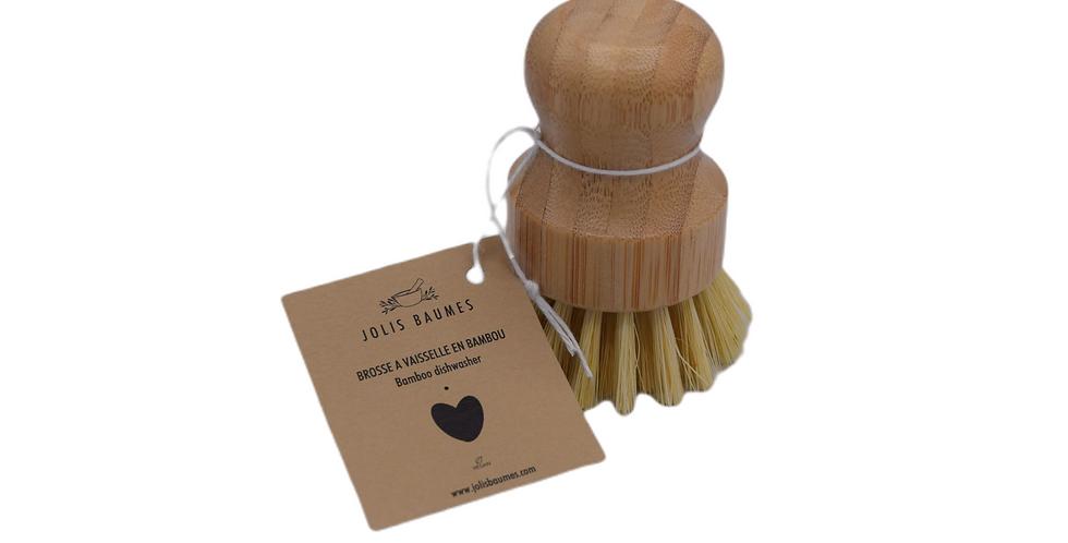 Brosse à vaisselle en bambou