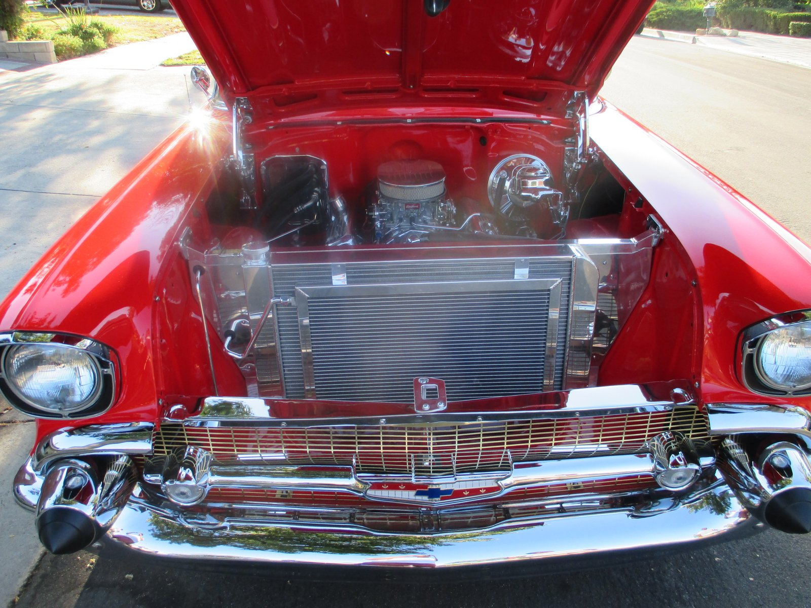 1957 Chevy Bel Air Tri-Five Radiator.JPG