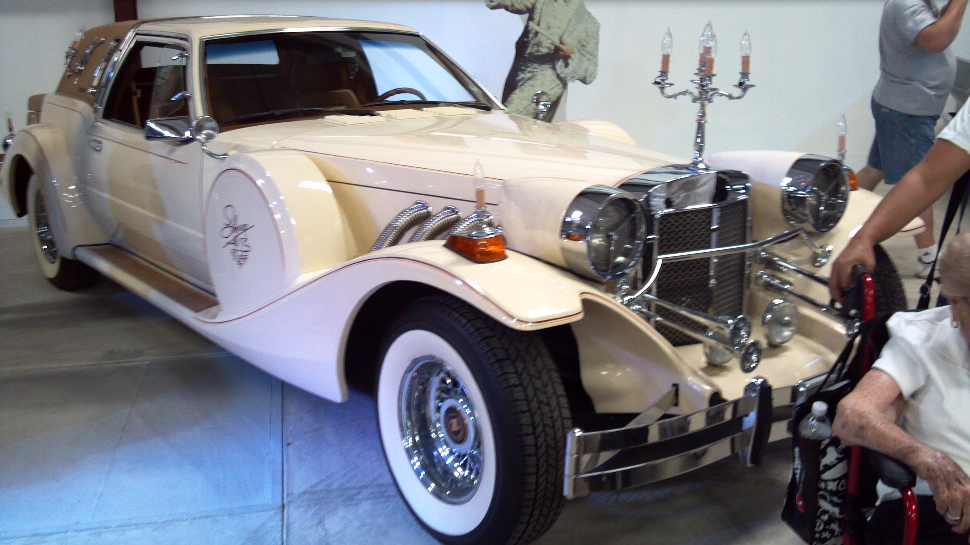 Liberace's car Galpin Museum
