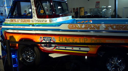 Backward Truck
