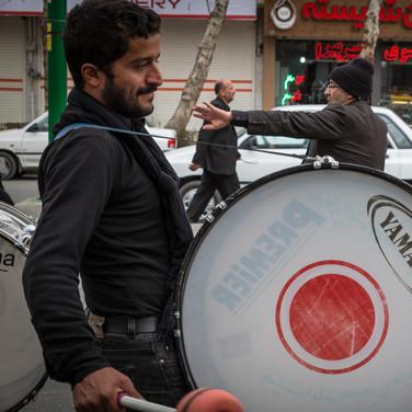 Procession - Ispahan