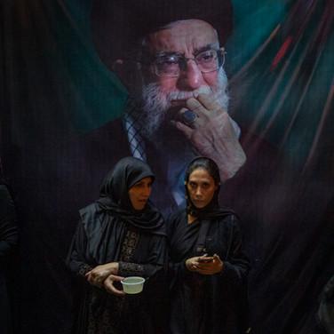 Repas sous ayatollah
