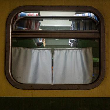 Train Bakou-Tbilissi