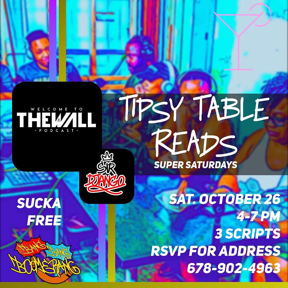 Table Read flyer