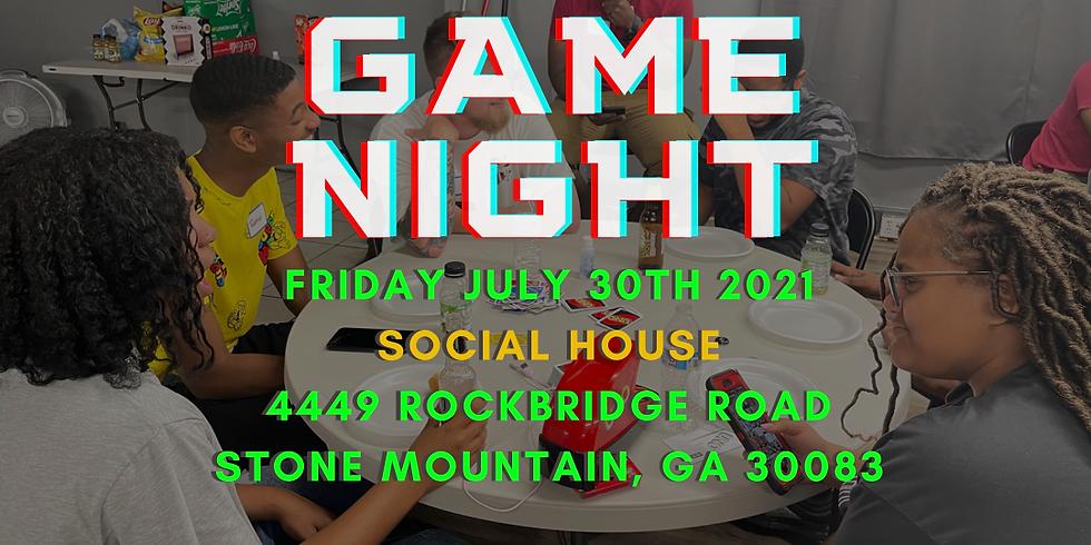 Game Night - Friday - 07/30/21