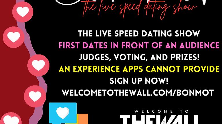 Bon Mot Live Speed Dating Show - June 10, 2021