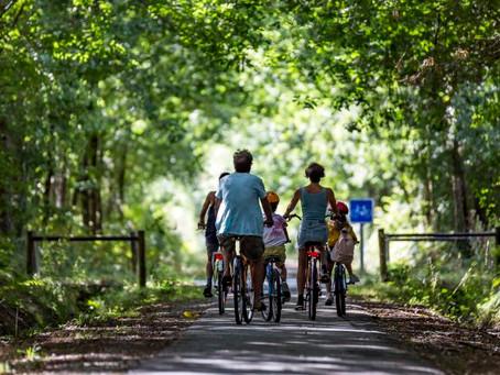 Le voyage à vélo a la côte