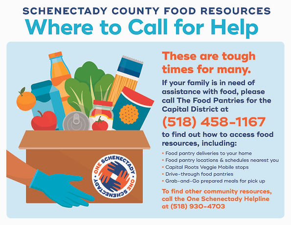 Food Resources Flyer Page One 2-11-21.jp