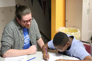 Teens Inspired by Visit from Graphic Designer