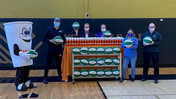 Dunkin' Donates More Than 50 Basketballs and 200 Water Bottles to Support Local Youth at BGCS