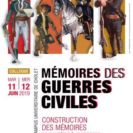 """Colloque """"Mémoires des guerres civiles"""""""
