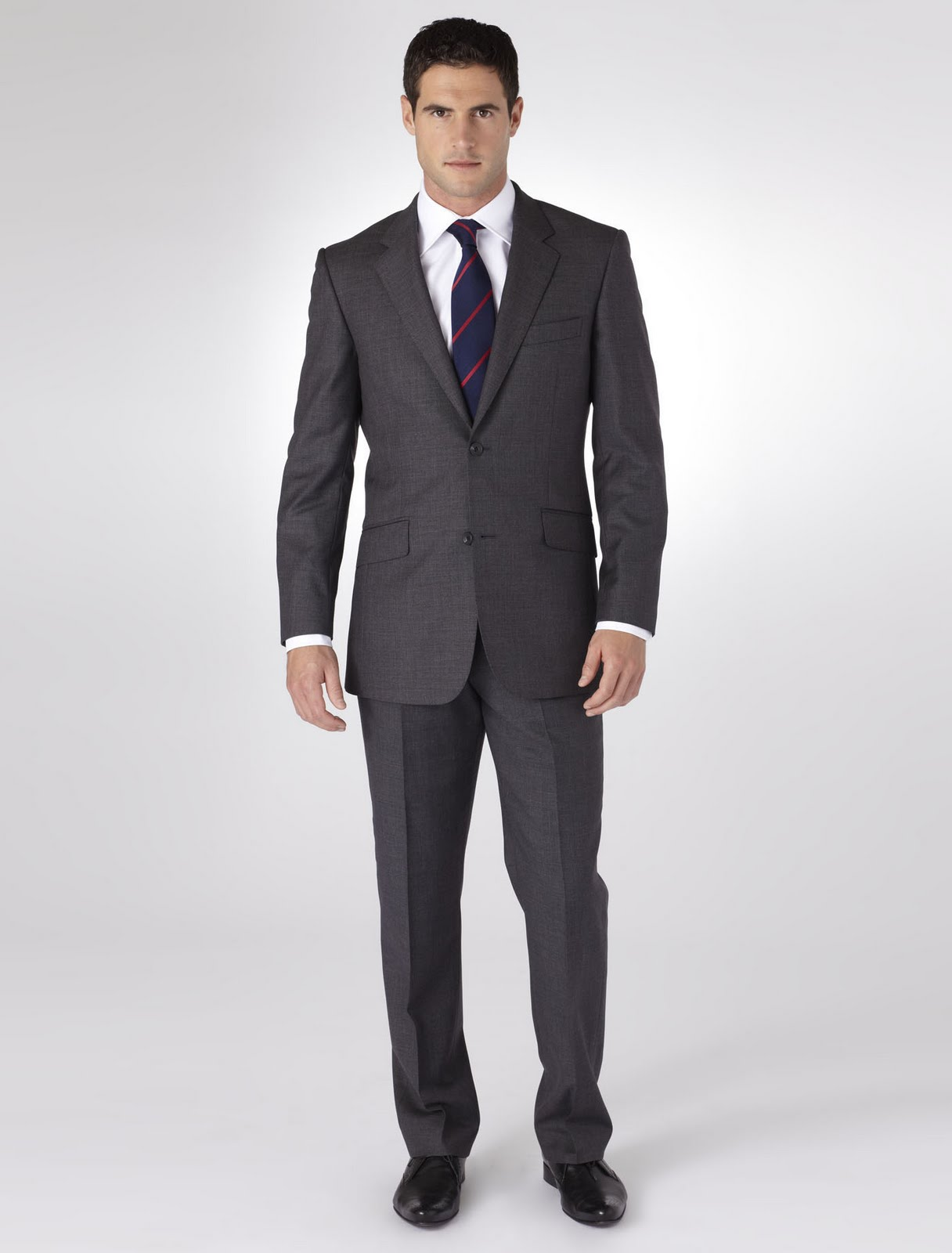 (TRAJE FORMAL) T OTTIMO GRIS OXFORD