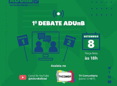 Eleição ADUnB: candidatos participam do primeiro debate