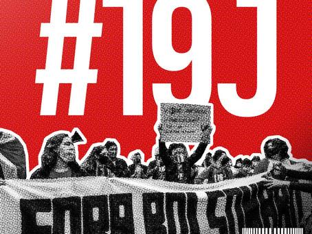 Orientações para o ato #19J
