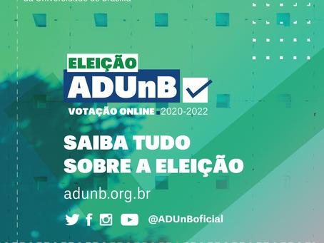 Eleição ADUnB: saiba tudo sobre o pleito.