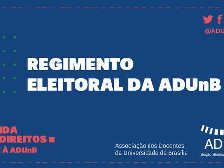 Eleições da ADUnB serão em virtuais e em setembro