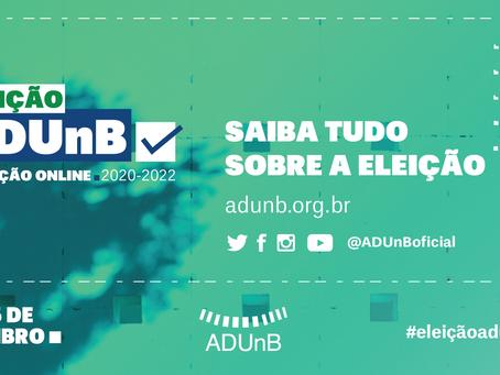 Informações sobre a Eleição ADUnB 2020-2022
